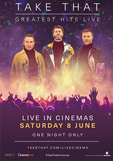 TAKE THAT  GREATEST HITS LIVE